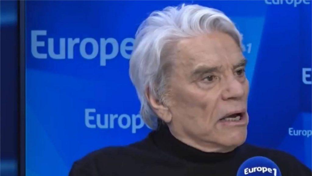 Bernard Tapie en interview