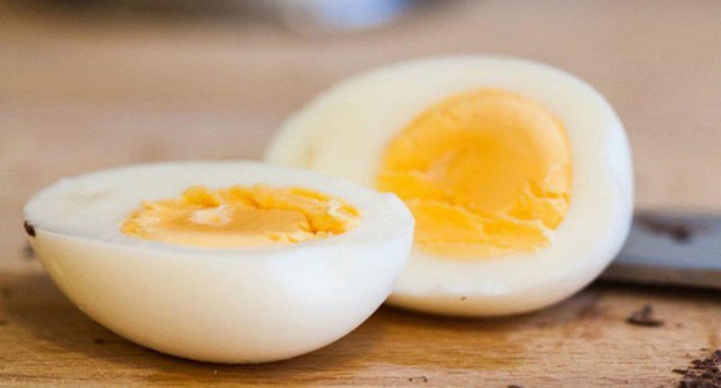 Un œuf dur en encas