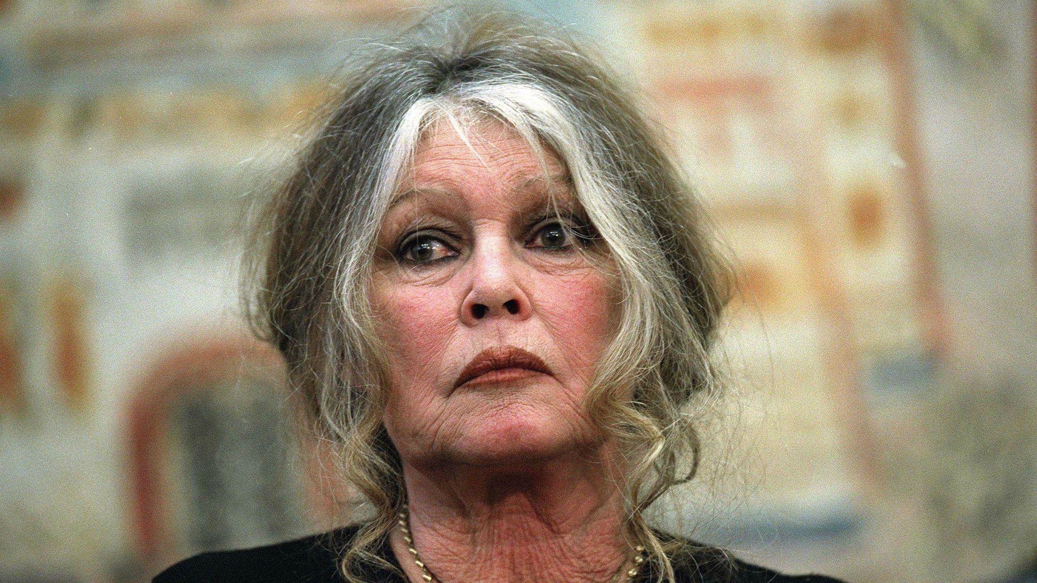Brigitte Bardot en colère