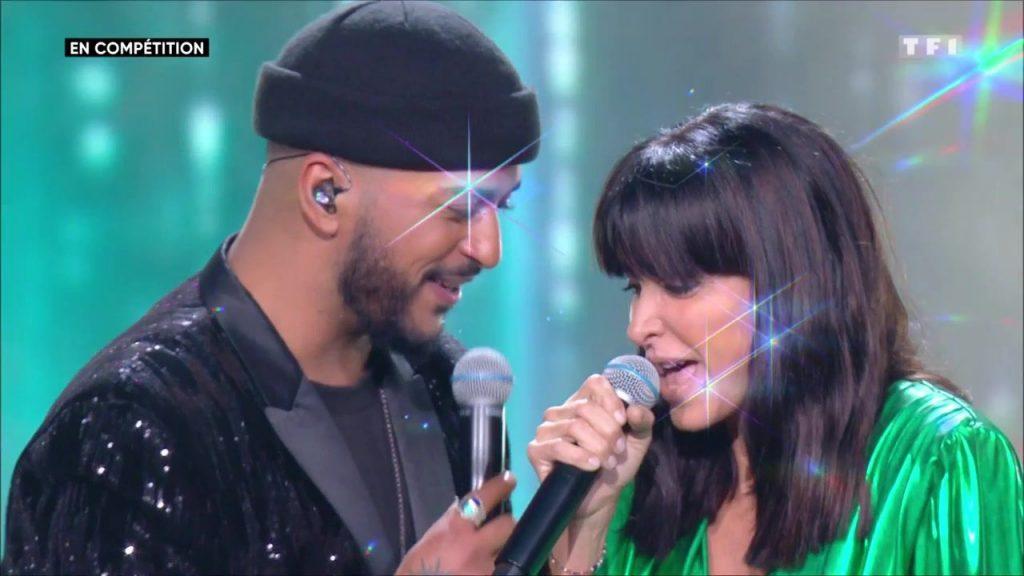 La chanteuse et Slimane en duo