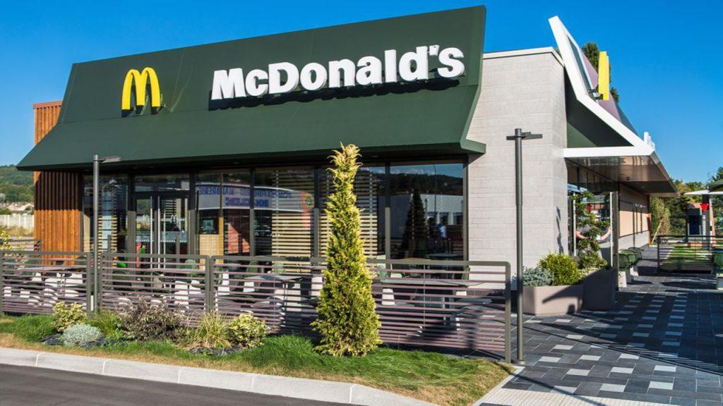 Le communiqué de McDonald's