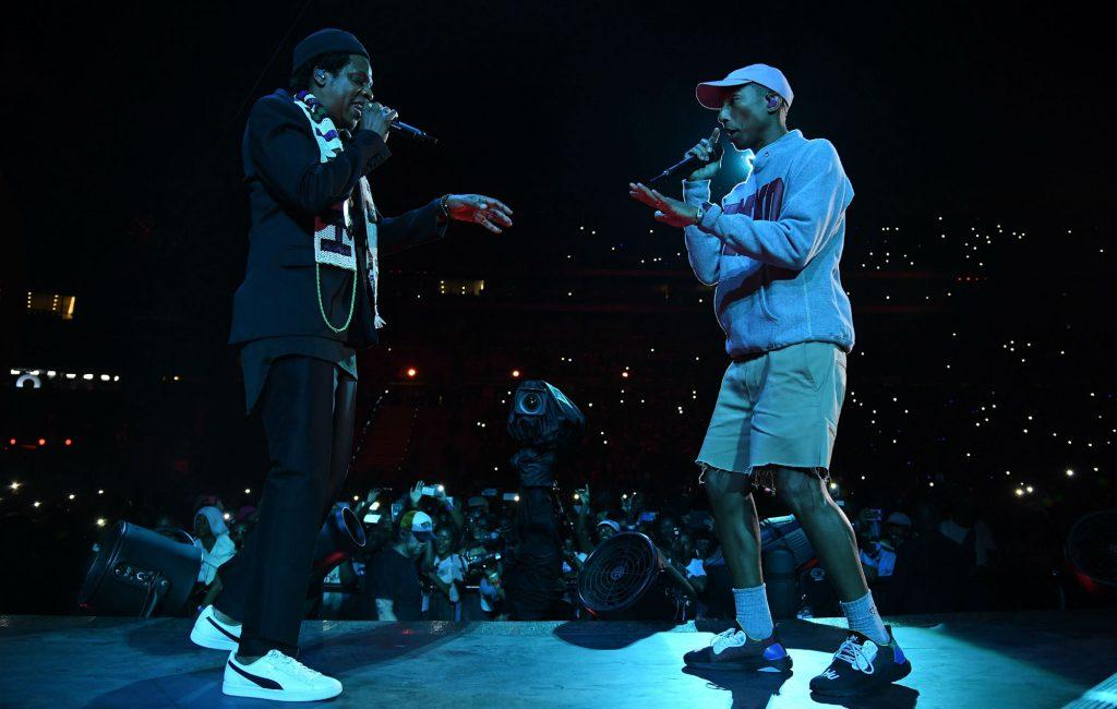Jay-z et Pharell Williams