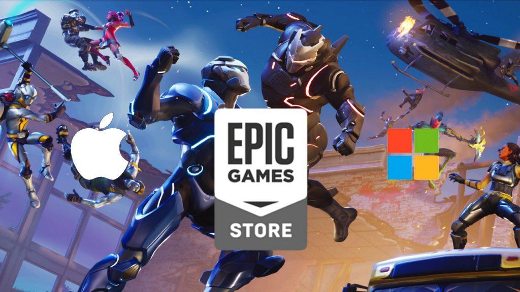 Microsoft soutient Epic Games