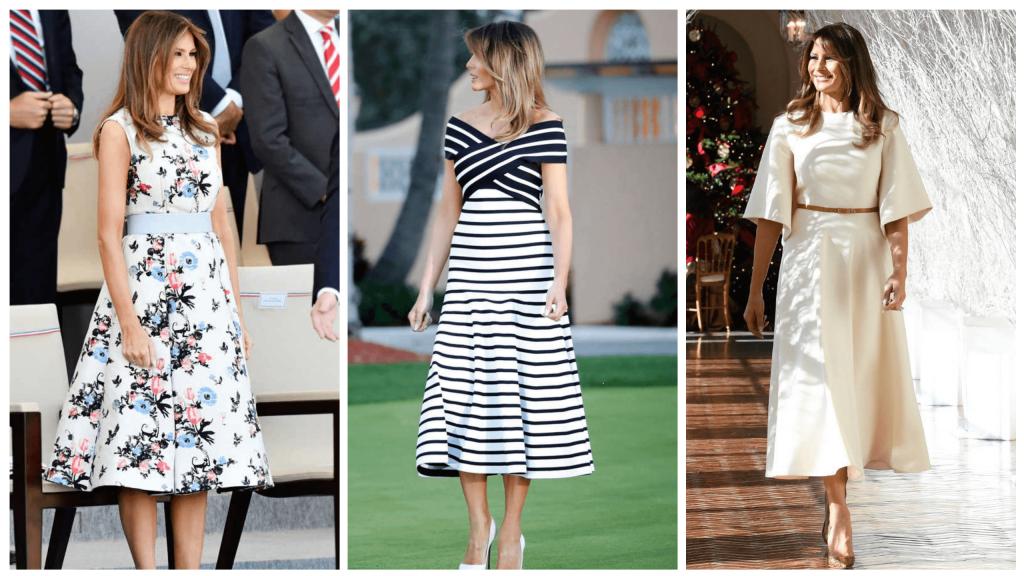 Le style vestimentaire marquant de Melania Trump