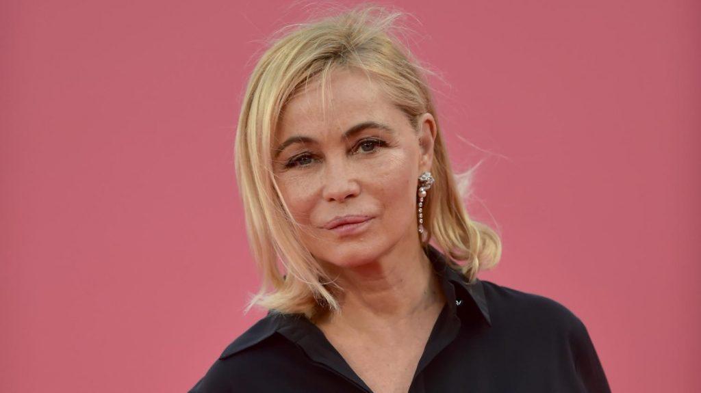 Emmanuelle Béart sans maquillage