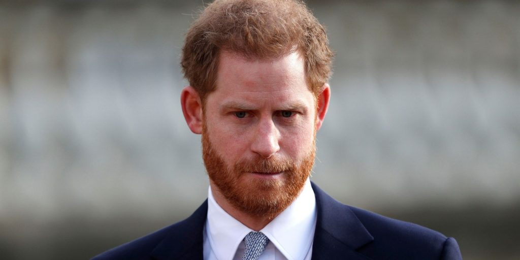 Le Prince Harry est concentré sur le négatif