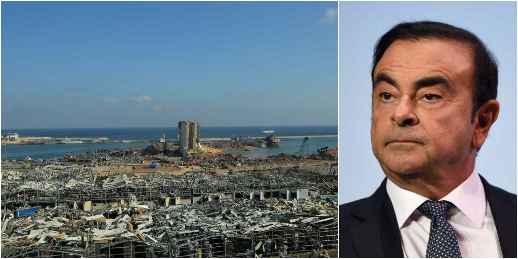 Destruction totale de la maison de Carlos Ghosn