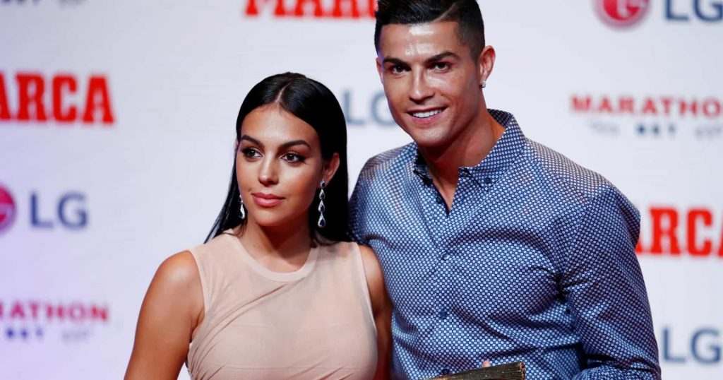 Cristiano ronaldo et georgina