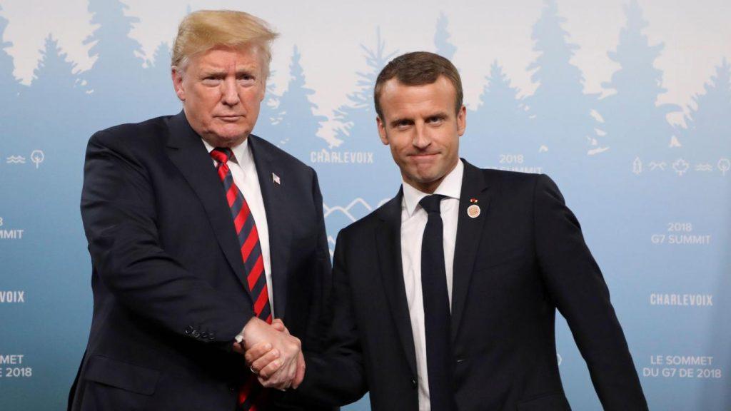 Emmanuel Macron et Donald Trump 32 ans les séparent