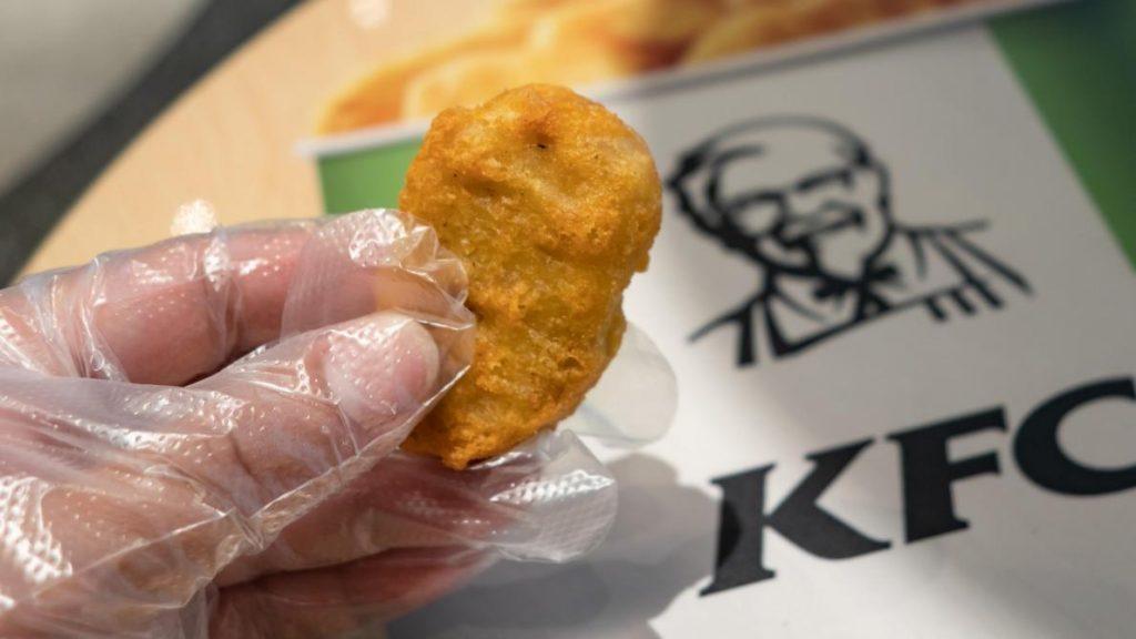 KFC un tiers de ses poulets sont maldes