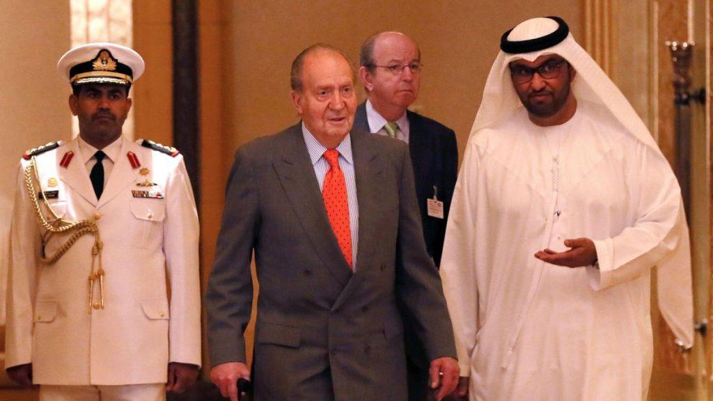 La belle vie à Abu Dabi pour Juan Carlos