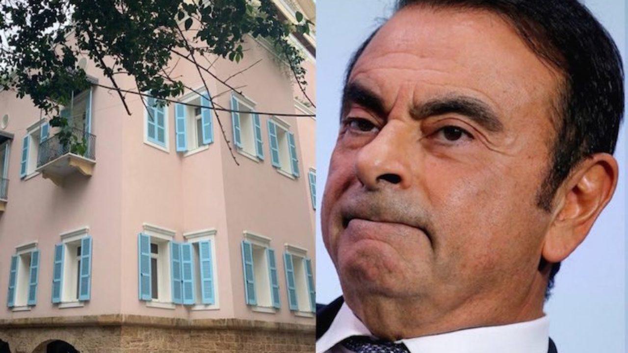 La maison de Carlos Ghosn détruite à Beyrouth
