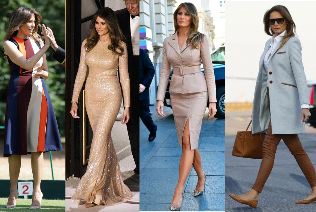 Les looks de Melania Trump