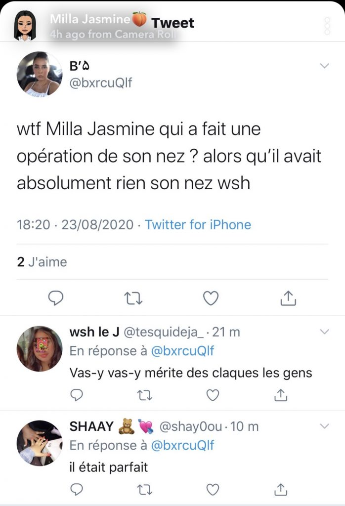 Les avis de la communauté de Milla Jasmine