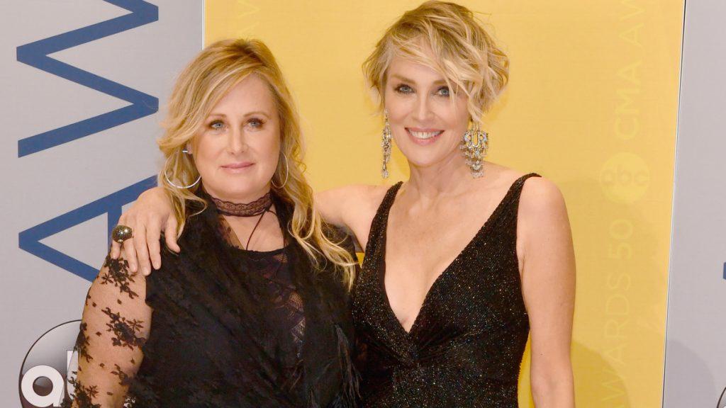 Sharon Stone et sa sœur Kelly