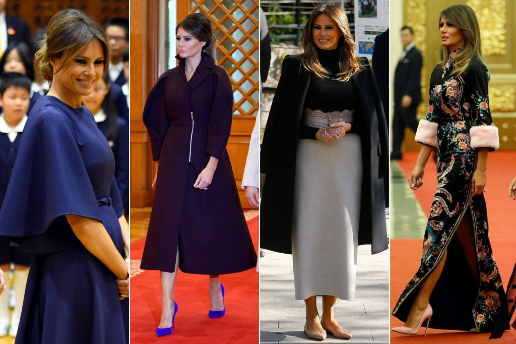 Garde-robe de Melania Trump