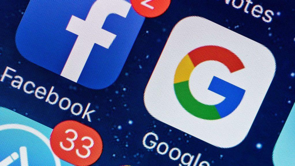 Facebook et Google une menace pour les utilisateurs