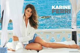 Karine Ferri rayonne de beauté en vacances