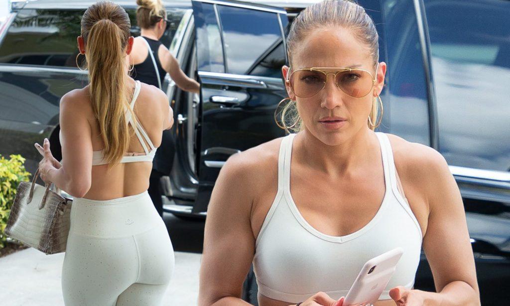 la routine de Jennifer Lopez