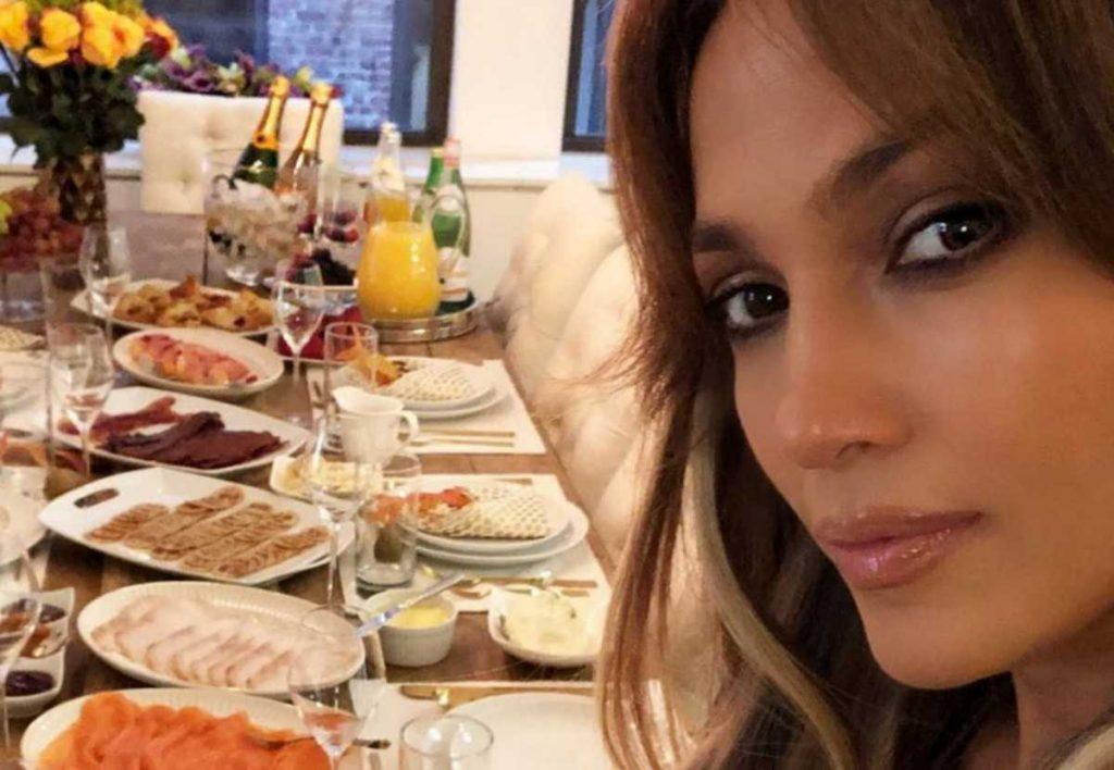 régime alimentaire de Jennifer Lopez