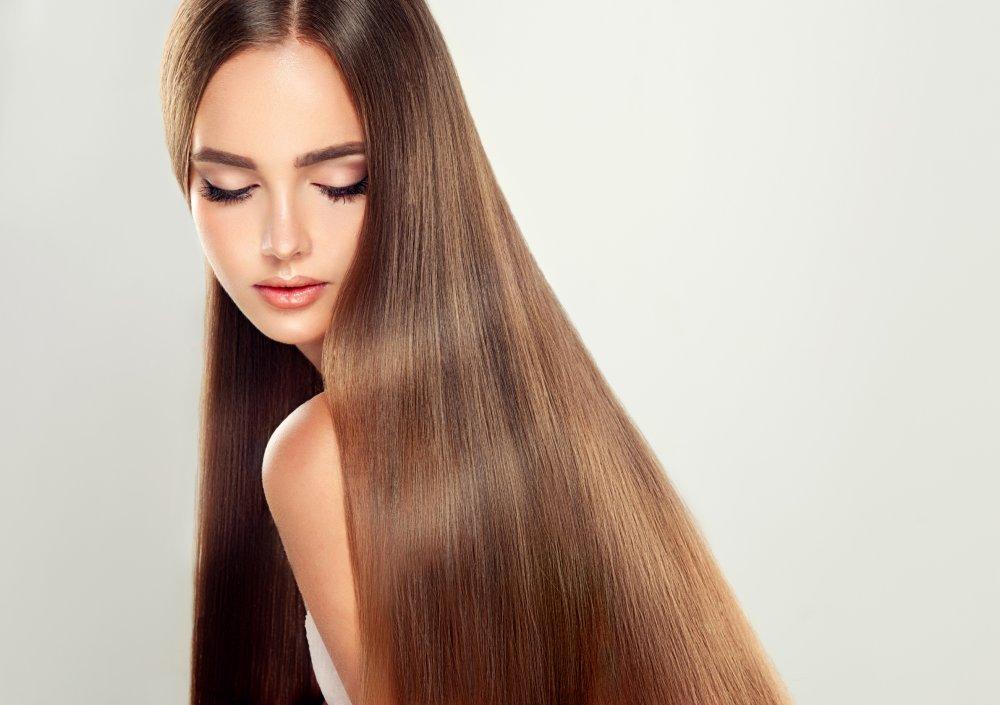 Kératine : Cheveux lisses