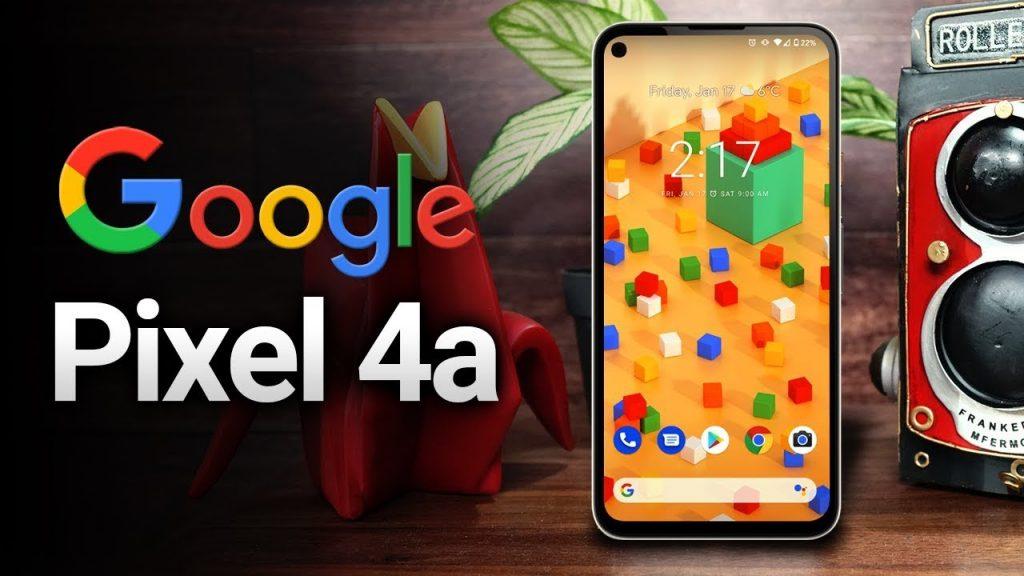 Google présente son nouveau smartphone