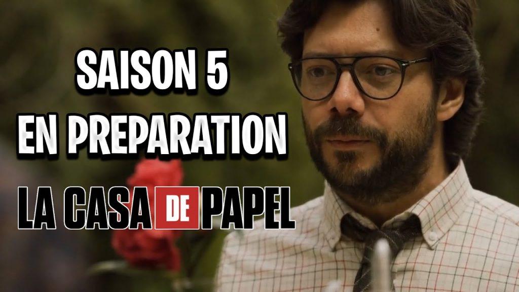 La casa de Papel cinquième saison sera la dernière