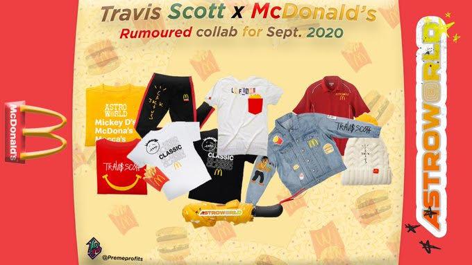 Travis Scott et McDonald's , une nouvelle collaboration