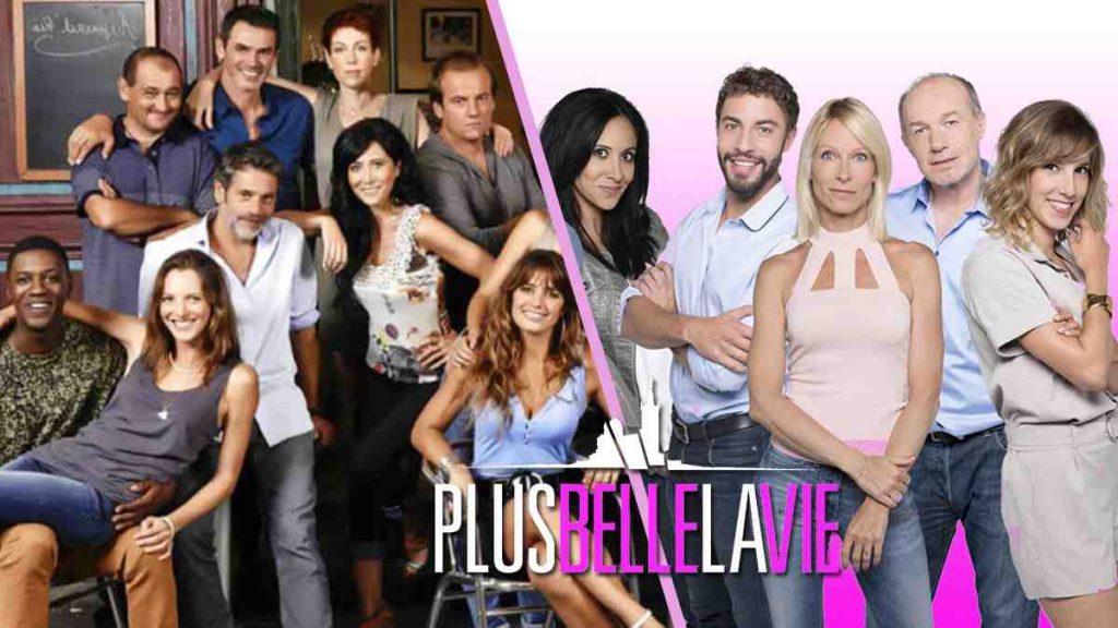 """Deux stars de """"Plus belle la vie"""" version topless"""