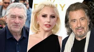Lady Gaga tournera avec Al Pacino et Robert de Niro
