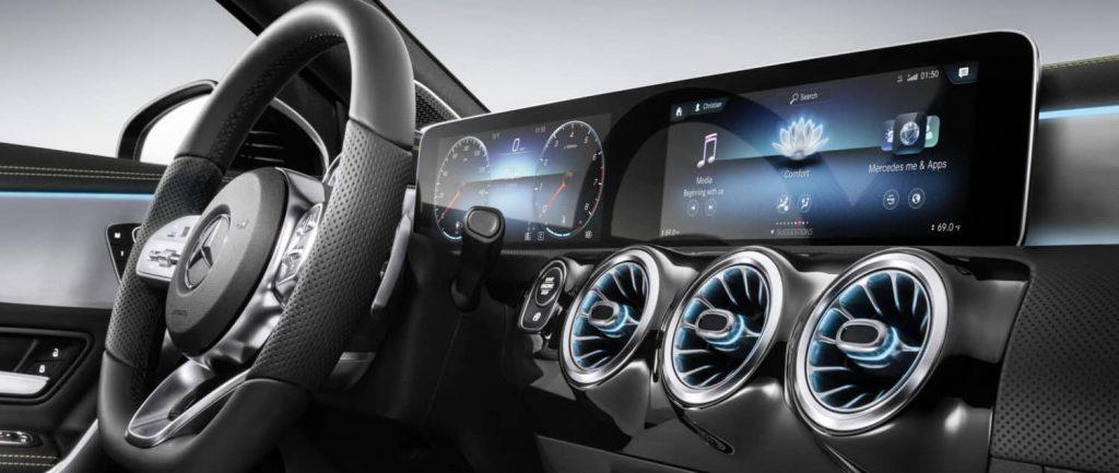 Mercedes-benz tableau de bord