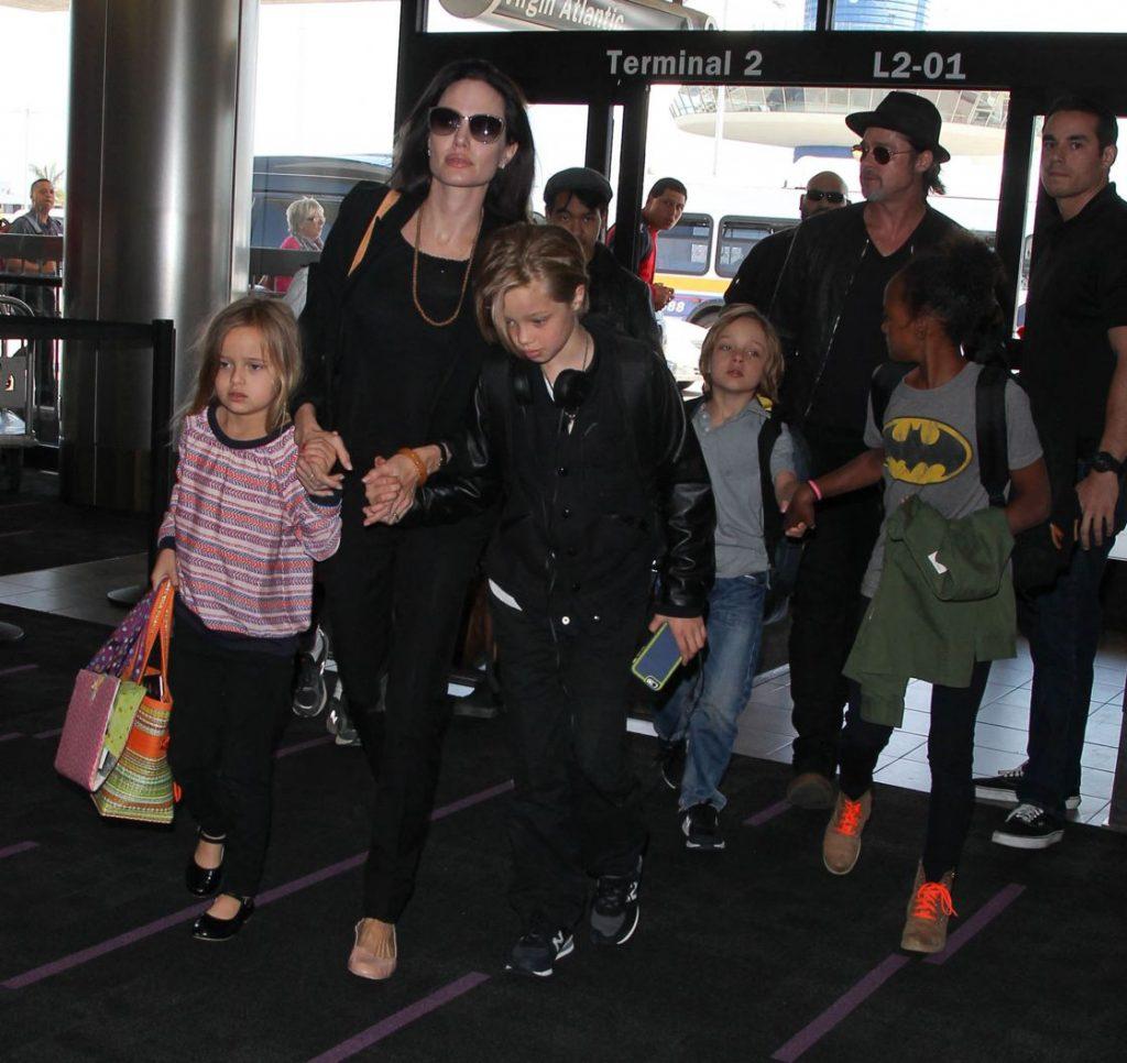 Les enfants de Brad et Angelina