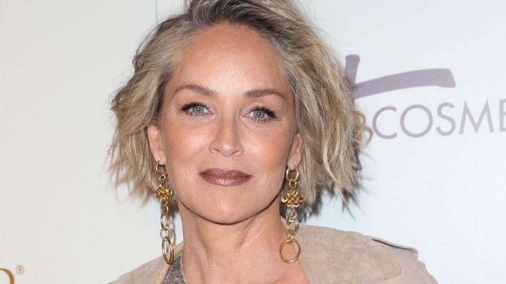 Sharon Stone en colère