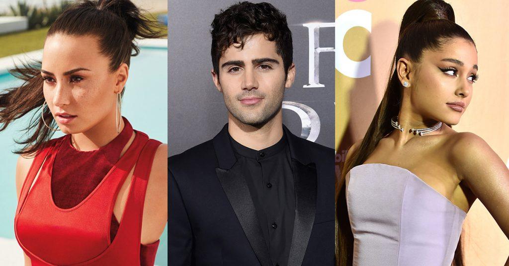Demi Lovato, Ariana Grande, Max