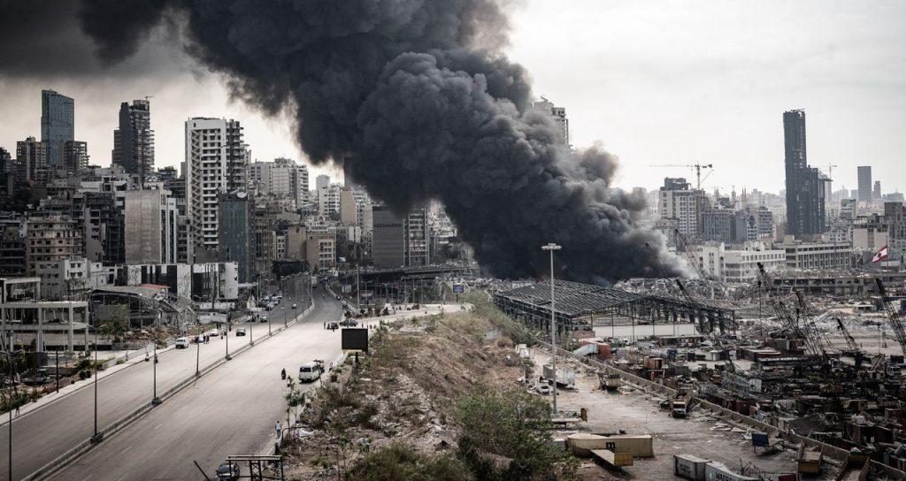 Incendie au Liban