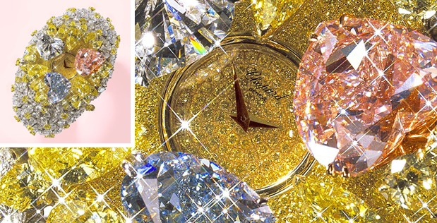 3 - Montre de 201 carats de Chopard