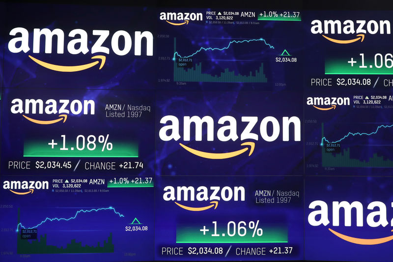 Amazon en bourse