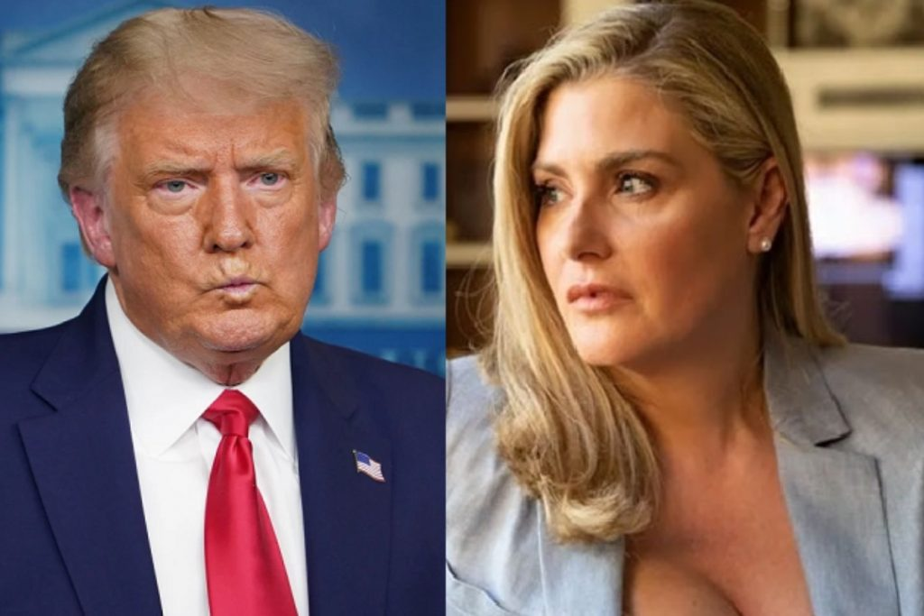 Donald Trump et Amy Dorris