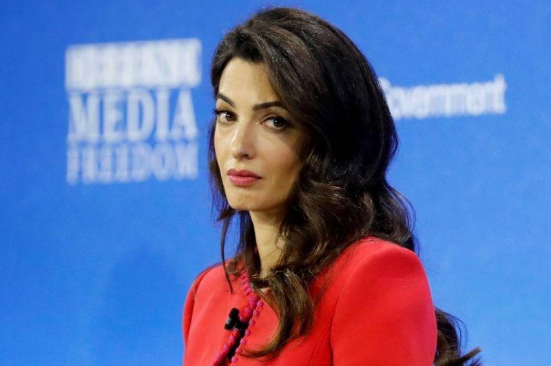 Amal Clooney en colère contre Boris Johnson : sa décision radicale !