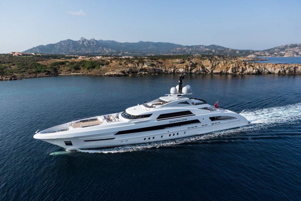 Un yacht  d'exception