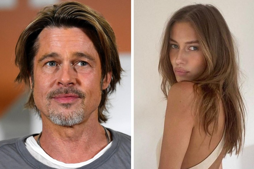 La nouvelle copine de Brad Pitt: Elle ressemble à Angelina Jolie!