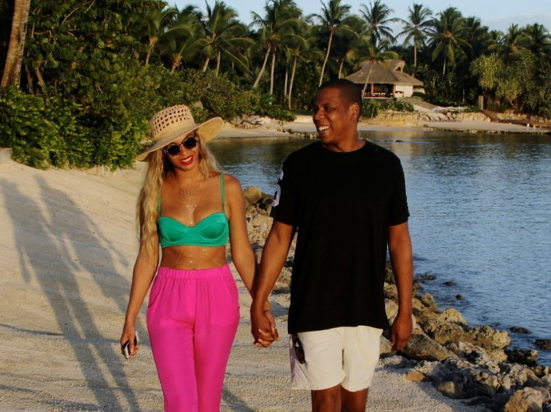 Beyoncé: des vacances hors normes
