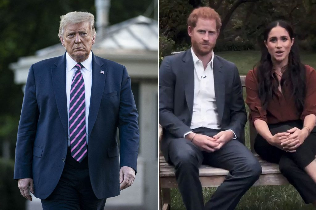 Donald Trump vs Meghan