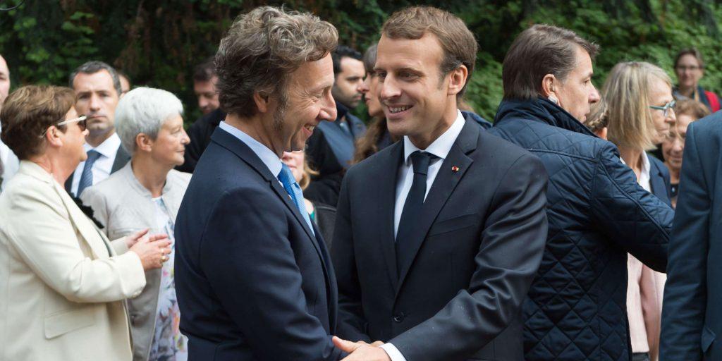 Emmanuel Macron : Le jour où Stéphane Bern l'a presque écrasé