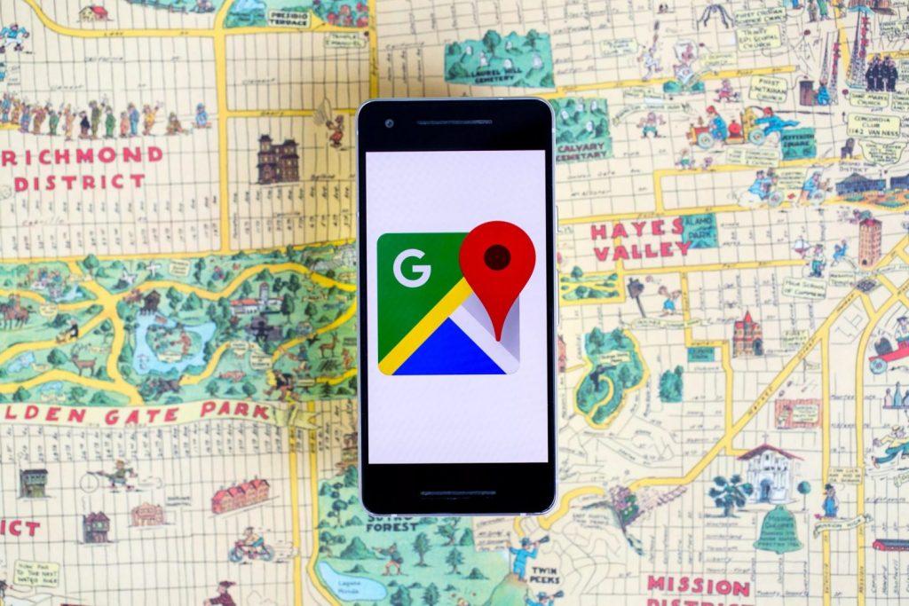 Google Maps : Trafic routier en direct !