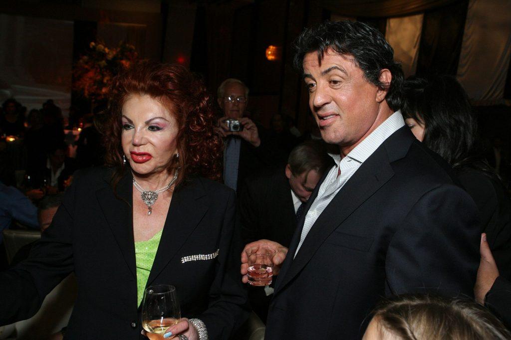 Mamma Rambo est fière de son fils:  Sylvester Stallone