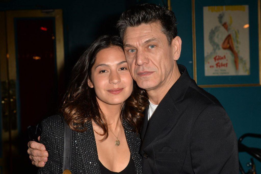 Marc Lavoine et Line Papin : la première sortie des nouveaux mariés