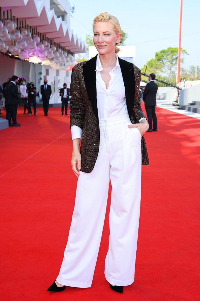 Cate Blanchett en Armani