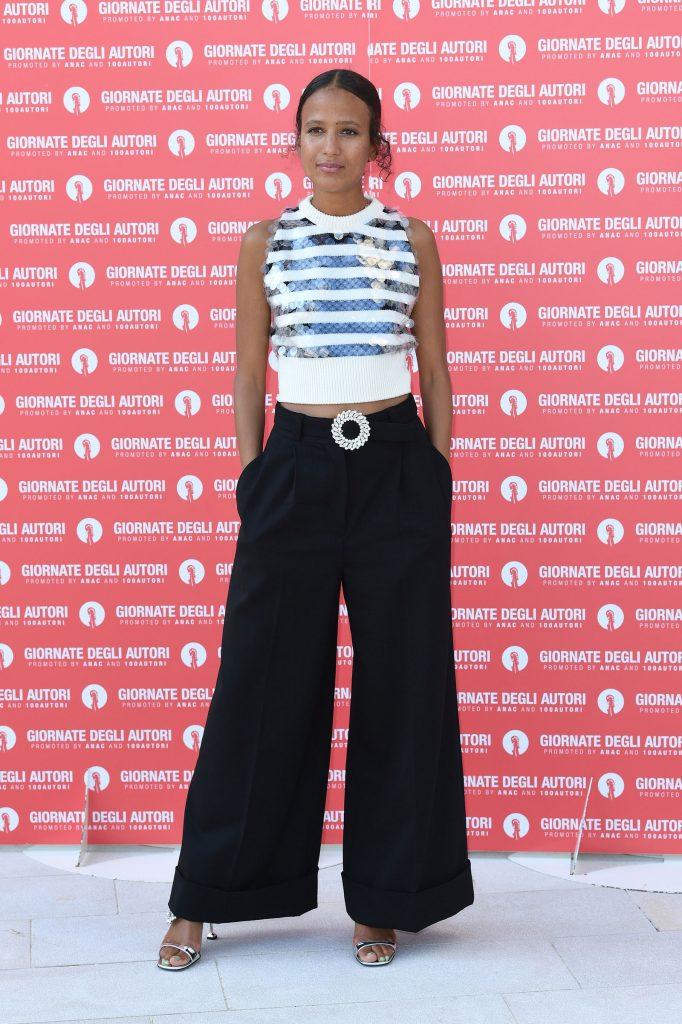 Festival de Venise 2020 : Mati Diop en Miu Miu