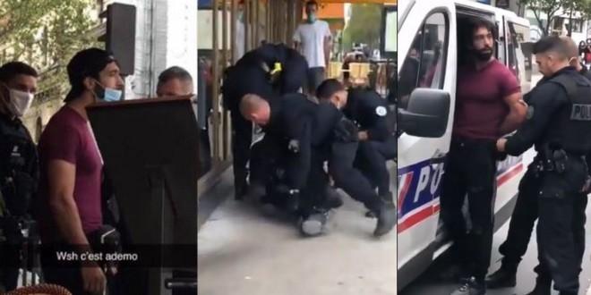 Ademo arrêté par la police